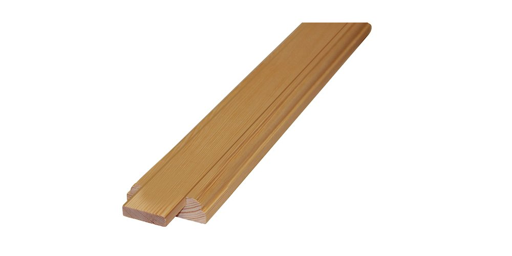 Stair Base Rail, Pine, 41 mm Infill Groove, 2.4 m Trade Stair Parts 5060473140332