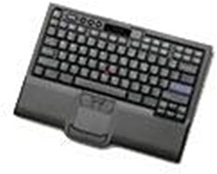 IBM Keyboard with Integrated Pointing Device-3m Cable–Black–USB–Arabic