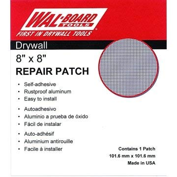 8 x 8inch Wal-Board Self-Adhesive Drywall Patch 10/Pk