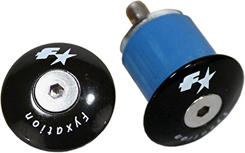 Fyxation Bar End Plugs, Black
