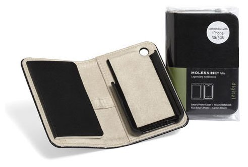 low priced 0550f 409da Moleskine Smart Phone Cover and Volant Notebook for iPhone 3G and 3GS