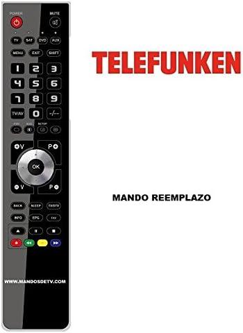 Mando TV TELEFUNKEN TS32D875L5: Amazon.es: Electrónica