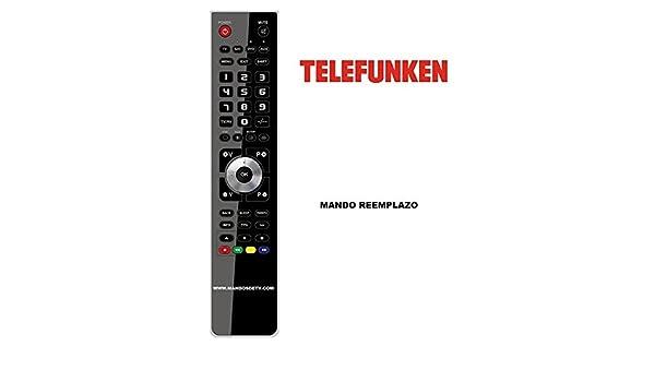 Mando TV TELEFUNKEN 32TLKDLEDSMART: Amazon.es: Electrónica