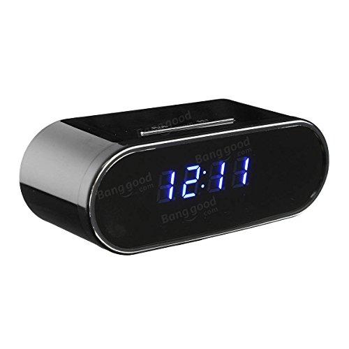 Deluxe Gun Guard Safe (Z10 1080P HD WIFI Wireless Hidden Camera Night Vision Alarm IP Camcorder Clock)