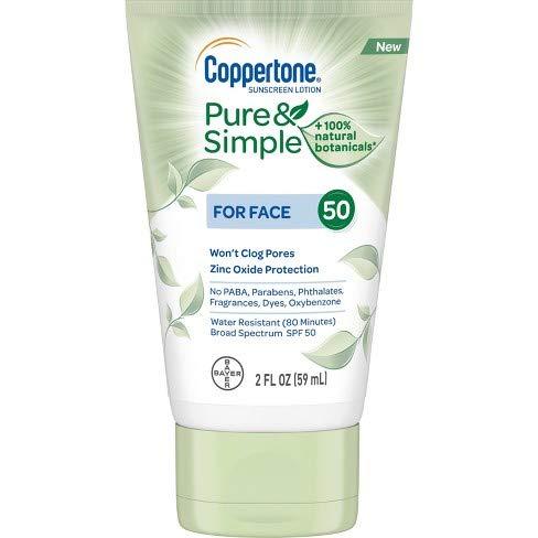 Coppertone Pure & Simple - Pure & Simple Face SPF