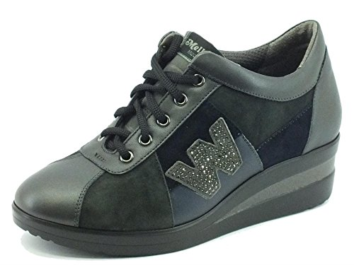 Nrc Anthracite R0803 Baskets Antracite Melluso Pour Femme TRwqCCd