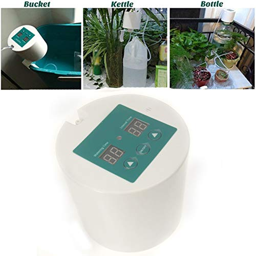 Cheapar Automatic Irrigation Kit, Self Watering System, with Electronic Water Timer, 10m Tube, Automatic Drip Watering System for Gardens, Balconies, Hanging Baskets, Indoor, Outdoor, Potted Plants