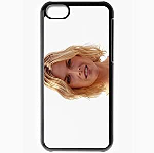 Personalized iPhone 5C Cell phone Case/Cover Skin Ali Larter Black by icecream design