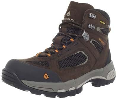Vasque Men's Breeze 2.0 Gore-Tex Waterproof Hiking Boot, Slate Brown/Russet Orange,7 M US