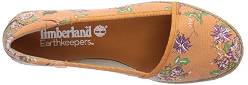 Timberland Casco Bay Ftw_ek Casco Bay Fabric Slip On - Alpargatas Mujer naranja - Orange (ORANGE)