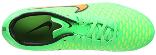 Nike Hommes Magista Onda Fg Football Crampons Psn Vert / Ttl Orng-flsh Lm-blk