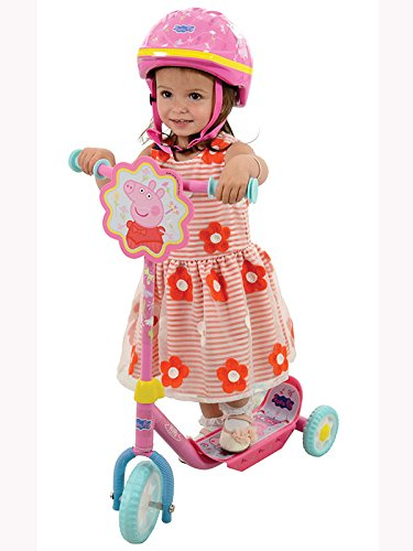 Amazon.com: Las niñas Peppa Pig My First Tri-Scooter ...