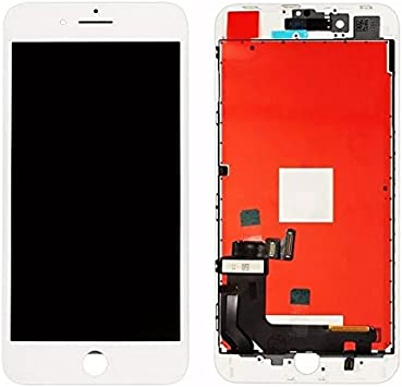 HOUSEPC Pantalla LCD Táctil De Cristal para Apple iPhone 8 Plus Tianma Pantalla Blanca Original: Amazon.es: Electrónica