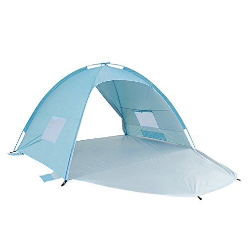 ALPIKA Beach Tent Sun Shelter UV Protection Easy Setup Tent for Outdoor