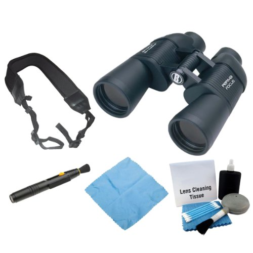 Bushnell 175010C Permafocus 10x50mm Performance Optics Binocular + Enhanced Lens Cleaning Kit + Accessory Kit Review