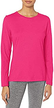 Hanes Womens Long Sleeve Tee Shirt