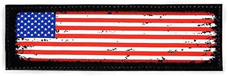 Julius K9 Flag Label for Harnesses, USA