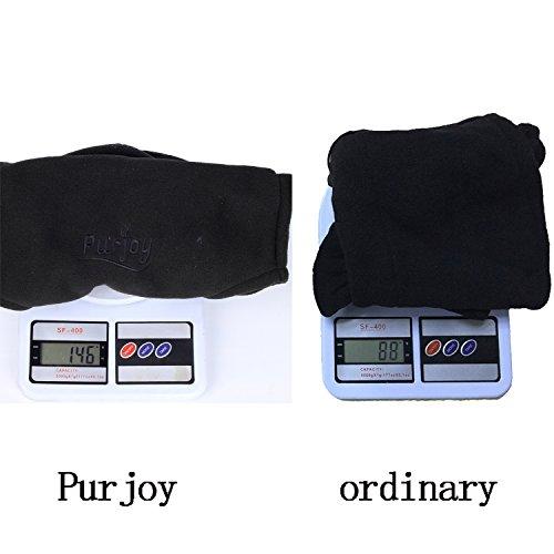 Purjoy Warm Thickening Fleece Balaclava Full Face Mask Hats Neck Warmer