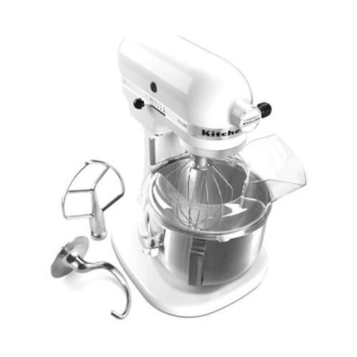 KitchenAid KSM500PSWH Pro 500 Series 10-Speed 5-Quart Stand Mixer, White (Kitchenaid Pro Stand compare prices)