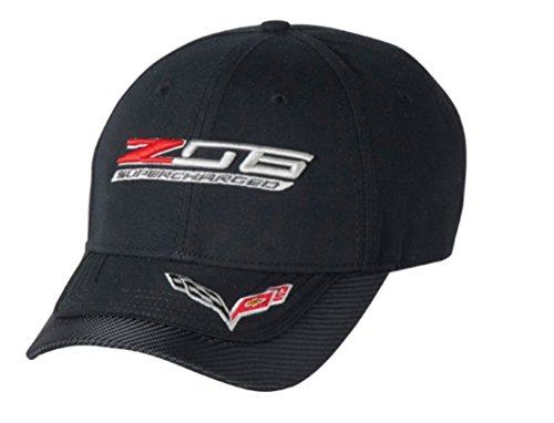 (Z06 C7 Corvette Carbon Fiber Cap (Black) One Size )