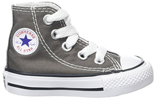 Converse Taylor Star Charcoal Scarpe Chuck Toddler All Grigio High per Top bambini rAqUFrxw
