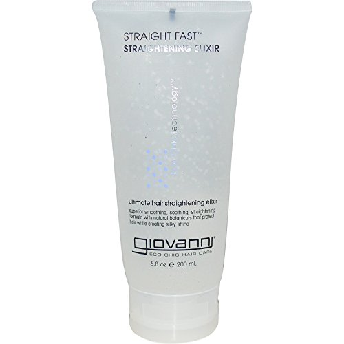Giovanni, Straight Fast, Straightening Elixir, 6.8 oz (200 ml) - 2pc ()