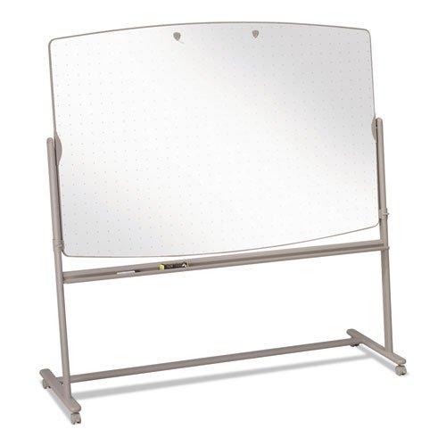Quartet Total Erase Reversible Mobile Easels-Reversible Mobile Easel Board, 6'x4'-75'', Neutral