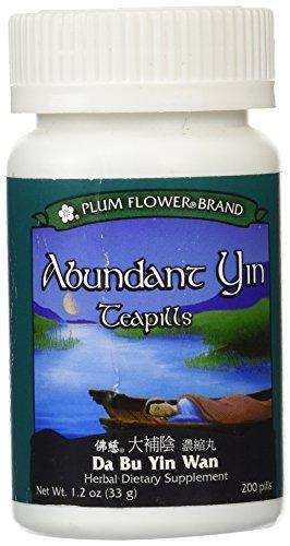 Abundant Yin Teapills (Da Bu Yin Wan), 200 ct, Plum Flower by Plum Flower