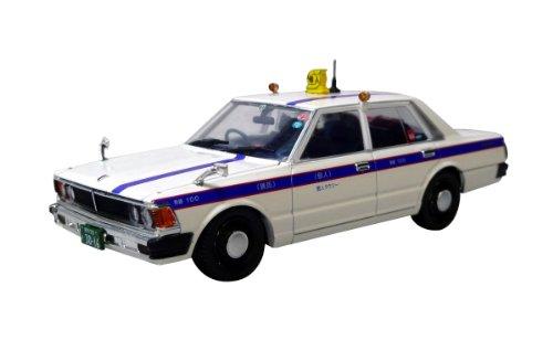 1/43 430 セドリック 4ドアセダン 200スタンダード 前期型 個人タクシー(ホワイト×ブルー) 0087794
