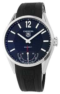 TAG Heuer Men's WV3010FC0025 Carrera Black Dial Watch