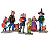 Lemax Spooky Town Trick or Treating Fun Set of 4 # 42217