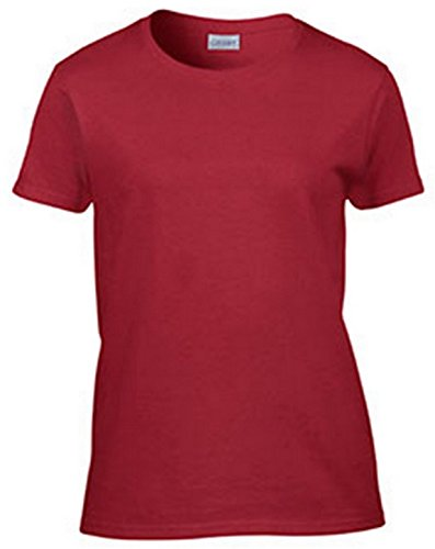 Gildan Ultra Cotton Ladies' T-Shirt, Cardinal Red, XX-Large Cardinals Cotton