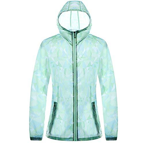 Bsjmlxg Men Printing Long Sleeve Ultra-Thin Sunscreen UV Clothing, Hooded Sweatshirt Pullover Tops Blouse - Blouse Pleats Nylon