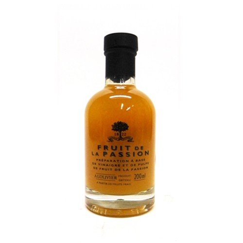 A L'Olivier Passion Fruit Vinegar, 6.76 oz (Pack of 6)