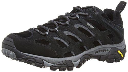 montantes Black randonnée Tex Merrell homme Moab de Chaussures Noir Gore wnBaxYqSp