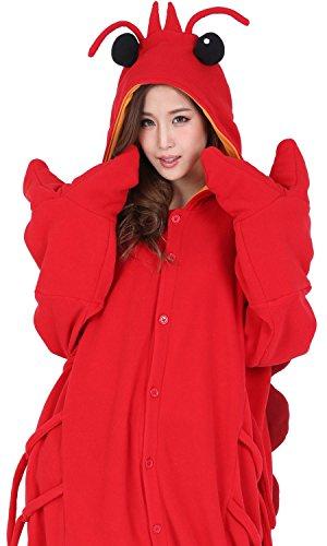 2862 인형 어른용 플리스(fleece) 애니멀[ lobster ]