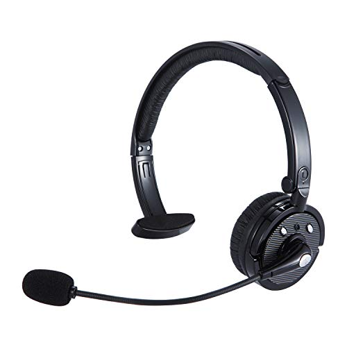 Trucker Bluetooth Headset Wireless Headset with Mic...