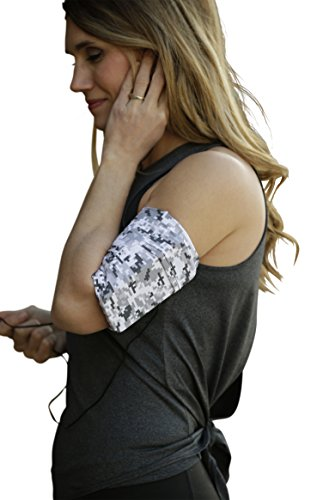 MÜV365 Ultimate Comfort iPhone 8 Running Armband Sleeve - Also Fits iPhone 7/7 Plus/6/6s, Samsung Galaxy S8/S7 and All Phone Models with Case Up to 7