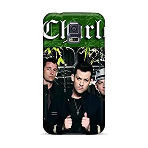 Samsung Galaxy S5 ENa12110NsWK Provide Private Custom Nice Good Charlotte Band Image High Quality Hard Phone Cover -MansourMurray