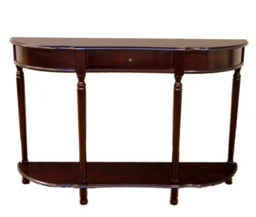 Frenchi Home Furnishing Console Sofa Table with -