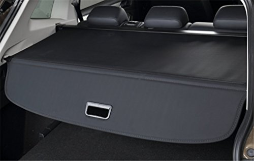 Ice-man Interior Retractable Rear Trunk Cargo Cover Protector Tonneau Security Shield For Volkswagen VW Tiguan 2018 (Black)