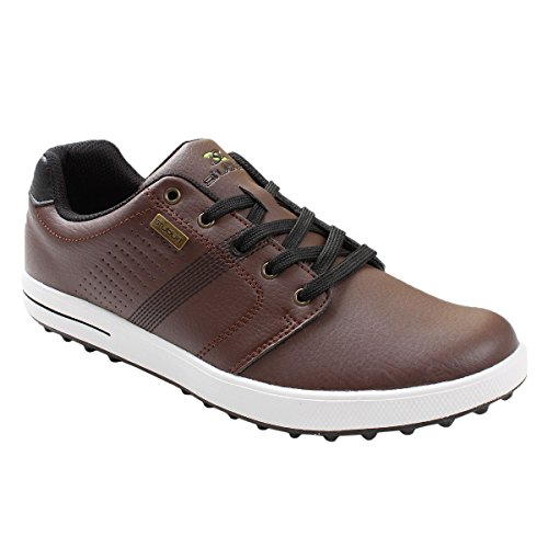 Stuburt 2017 Chaussures De Golf Spikeless Urban Handgrip Pour Homme - Marron - Uk 7.5