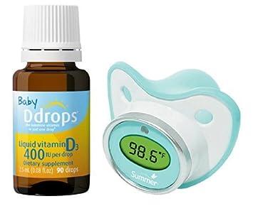 Amazon.com: Bebé Ddrops 400 IU líquido Suplemento de ...