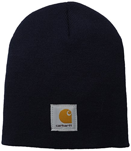 - Carhartt Men's Acrylic Knit Hat A205, Navy, One Size