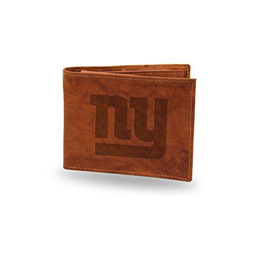 Nfl Team Embossed Billfold (NFL New York Giants Embossed Genuine Leather Billfold)