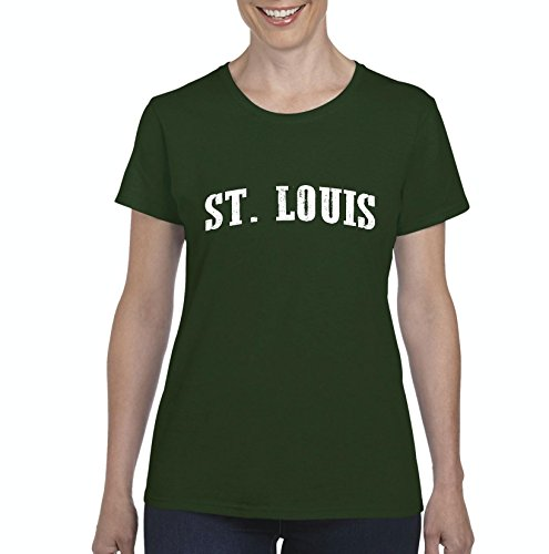 Mom's Favorite Missouri T-Shirt ST. Louis MO Home University Of Missouri Tigers Womens - Springfield Mall Shop