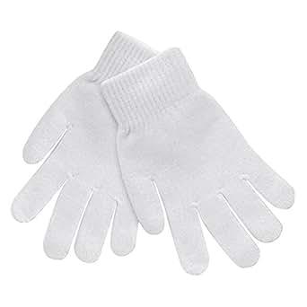 Gravity Threads Winter Women/Mens Gloves, White at Amazon