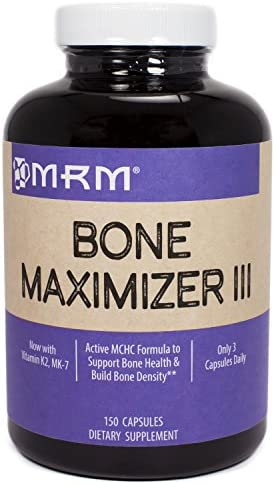 MRM Bone Maximizer III, 150 Capsules Pack of 3