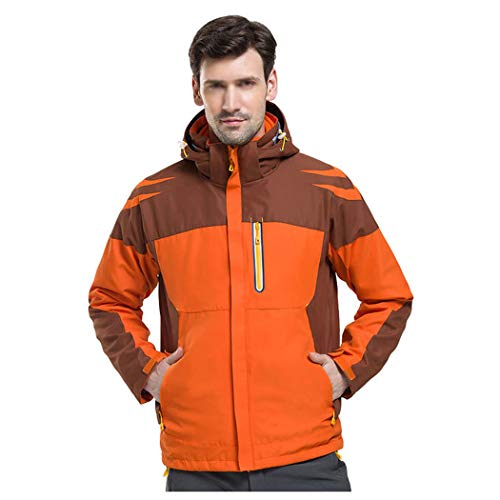 E Caldo in Giacca Donna Da Huifang Delle Outdoor Ande Uomo Alpinismo one Orange Tre Impermeabile wxHftgtRq