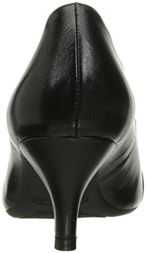 Women's Black Pump of Leather Honor Aerosoles Made Dress OnTHavH